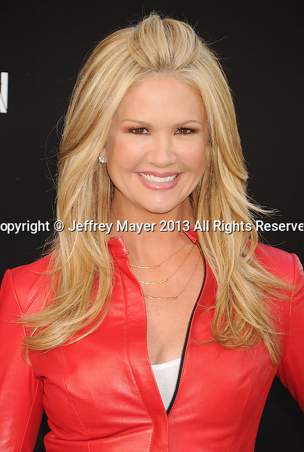 HOLLYWOOD, CA- APRIL 21: TV Personality Nancy O'Dell attends the 'Pain & Gain' premiere held at TCL Chinese Theatre on April 22, 2013 in Hollywood, California.