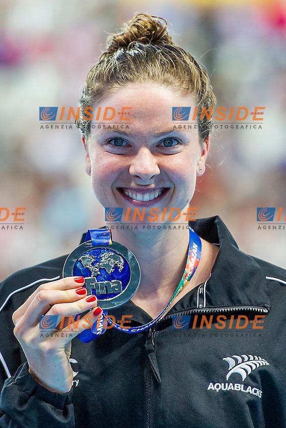 BOYLE Lauren NZL<br /> 1500 Freestyle Women Final Silver Medal <br /> Swimming - Kazan Arena<br /> Day12 04/08/2015<br /> XVI FINA World Championships Aquatics Swimming<br /> Kazan Tatarstan RUS July 24 - Aug. 9 2015 <br /> Photo A.Masini/Deepbluemedia/Insidefoto