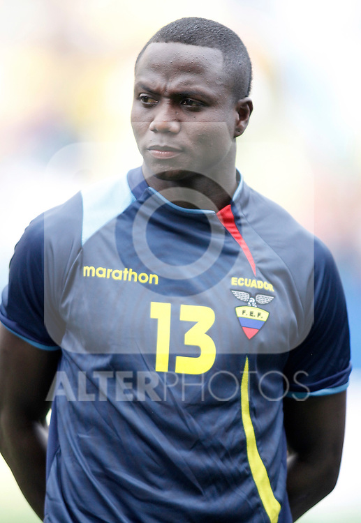 Ecuador's national team Isaac Mina during international friendly. March 26, 2011. (ALTERPHOTOS/Alvaro Hernandez)