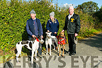 At the  Abbeydorney Coursing on Sunday was Anthony Collins with Pony Grace, Siobhan Keane with Pony Dots, Abbeydorney, Joe McCarthy, Listowel with Listowel Melia