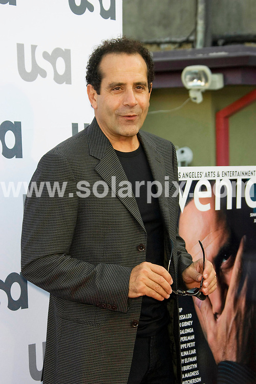 **ALL ROUND PICTURES FROM SOLARPIX.COM**.**SYNDICATION RIGHTS FOR UK, SPAIN, PORTUGAL, AUSTRALIA, S.AFRICA & DUBAI (U.A.E) ONLY**.The Hollywood actor Tony Shalhoub who plays the detective for USA Network's Monk Celebrates it's 100th Episode at the Pane e Vino Restaurant in Los Angeles, California in the  USA..This pic:Tony Shalhoub.JOB REF:6959-PHZ/Chris Hatcher    DATE:03_08_08 .**MUST CREDIT SOLARPIX.COM OR DOUBLE FEE WILL BE CHARGED* *UNDER NO CIRCUMSTANCES IS THIS IMAGE TO BE REPRODUCED FOR ANY ONLINE EDITION WITHOUT PRIOR PERMISSION*