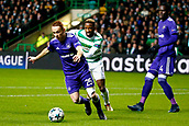 5th December 2017; Glasgow, Scotland;   Adrien Trebel midfielder of RSC Anderlecht during the Champions League Group B match between Celtic FC and Rsc Anderlecht