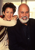 1991: CELINE DION - with Rene Angelil - Montreal Canada