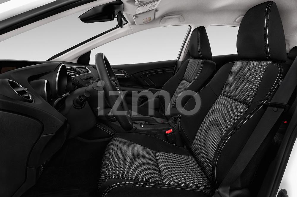 Front seat view of 2015 Honda Civic Comfort 5 Door Hatchback Front Seat  car photos
