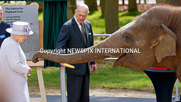 11.04.2017; Whipsnade Zoo, England: QUEEN ELIZABETH<br />