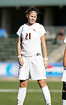 Florida State's Sarah Rosseau on Wednesday, November 2nd, 2005 at SAS Stadium in Cary, North Carolina. The Florida State University Seminoles defeated the Clemson University Tigers 4-0 during their Atlantic Coast Conference Tournament Quarterfinal game.
