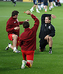 The only member of Rangers involved in the Scotland match is Adam Owen the welsh fitness coach