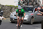 Irish National Team team rider Philip Lavery (IRL) chases down the leader through Inistioge village during Stage1 of the 2009 Tour of Ireland, running 196km from the Ritz-Carlton Hotel Powerscourt, Enniskerry to Waterford, Ireland. 21st August 2009.<br /> (Photo by Eoin Clarke/NEWSFILE)