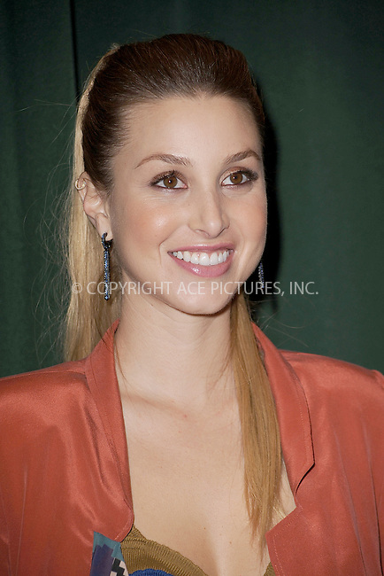 WWW.ACEPIXS.COM . . . . . .February 1, 2011...New York City..Whitney Port signs copies of True Whit at Barnes and Noble on February 1, 2011 in New York City....Please byline: KRISTIN CALLAHAN - ACEPIXS.COM.. . . . . . ..Ace Pictures, Inc: ..tel: (212) 243 8787 or (646) 769 0430..e-mail: info@acepixs.com..web: http://www.acepixs.com .