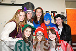 Transition year students dressed up for ''Dress up in Character Day'' in Presentation Secondary  School, Tralee on Tuesday. Pictured, front row, from left: Laura Daly, Martina O'Connor and Muireann Dolan. Back row: Grace Carton, Keava O'Sullivan, Aine O'Connor, Nicola McCarthy and Katie O'Farrell.