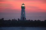Walton Light at Santa Cruz Harbor