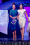 Siobhan Cushen, Ballyroe, Tralee, who won best dressed lady at the Rose of Tralee Fashion Show, held at the Dome on Sunday night pictured with 2016 Rose of Tralee Maggie McEldowney.