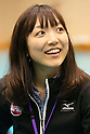 Yurie Adachi, APRIL 20, 2013 : The Building up Team Japan 2013 for Sochi at Ajinomoto NTC, Tokyo, Japan. (Photo by AFLO SPORT)