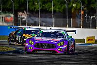 #33 MERCEDES AMG TEAM RILEY MOTORSPORTS (USA) MERCEDES AMG GT3 GTD BEN KEATING (USA) JEROEN BLEEKEMOLEN (NLD) FELIPE FRAGA (BRA)