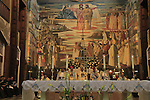 Israel, Lower Galilee, Nazareth, Annunciation Day ceremony at the Church of the Annunciation