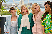 Kristen Stewart, Lea Seydoux, Cate Blanchett &amp; Ava Duvernay at the photocall for the Cannes Jury at the 71st Festival de Cannes, Cannes, France 08 May 2018<br /> Picture: Paul Smith/Featureflash/SilverHub 0208 004 5359 sales@silverhubmedia.com