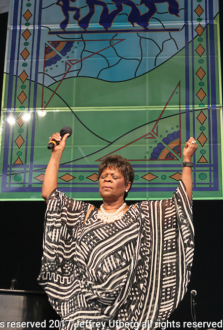 May 7, 2017 New Orleans, La.: Singer Irma Thomas performs the New Orleans Jazz & Heritage Festival on May 7, 2017 in New Orleans, La