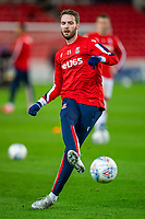 12th February 2020; Bet365 Stadium, Stoke, Staffordshire, England; English Championship Football, Stoke City versus Preston North End; Nick Powell of Stoke City during the warm up