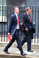 LONDON, UNITED KINGDOM - NOVEMBER 06: Culture Secretary, Jeremy Wright at a Cabinet meeting at 10 Downing Street in central London. November 06, 2018 in London, England. <br /> CAP/GOL<br /> &copy;GOL/Capital Pictures