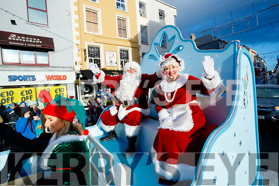 The CH Chemist Santa parade, Tralee on Saturday
