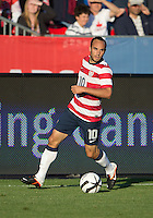 03 June 2012: US Men's National Soccer Team forward Landon Donovan #10 in action during an international friendly  match between the United States Men's National Soccer Team and the Canadian Men's National Soccer Team at BMO Field in Toronto..The game ended in 0-0 draw...