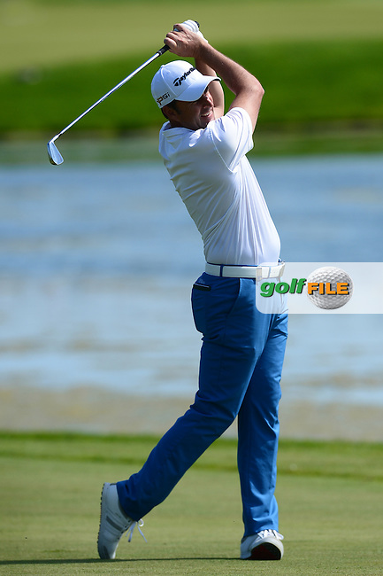 Richard Bland of England in action during Round 1 of the Nordea Masters, Bro Hof Slott Golf Club, Stockholm, Sweden. 02/06/2016<br /> Picture: Richard Martin-Roberts / Golffile<br /> <br /> All photos usage must carry mandatory copyright credit (&copy; Golffile | Richard Martin- Roberts)