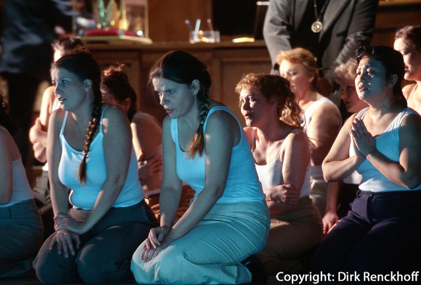 Deutschland, Staatsoper in Hamburg, Aufführung von Nabucco