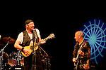 Ian Anderson and Martin Barre, Jethro Tull concert in Caesarea, Israel