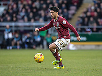 Danny Rose of Northampton Town during the Sky Bet League 2 match between Northampton Town and Wycombe Wanderers at Sixfields Stadium, Northampton, England on the 20th February 2016. Photo by Liam McAvoy.