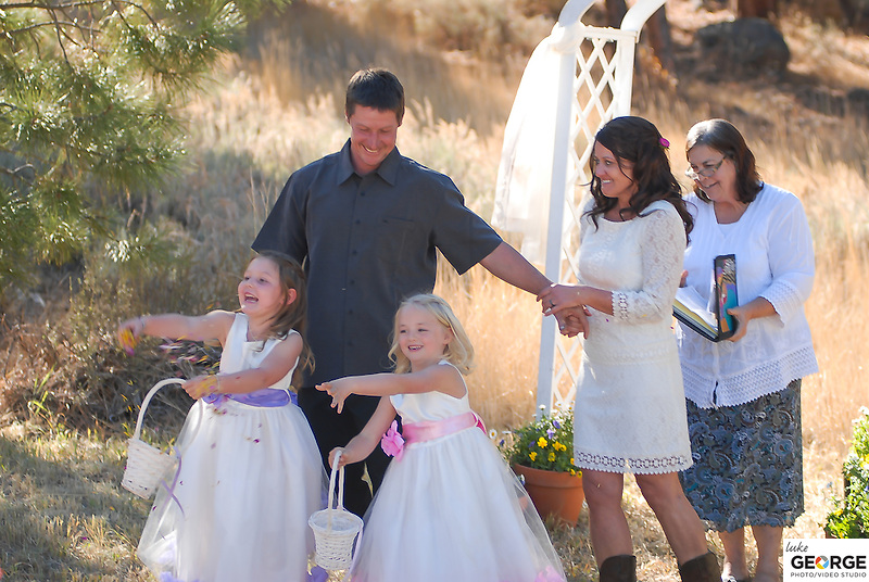Karen, Trevor, Lola and Avery's October 19th wedding in Truckee!  Congratulations!