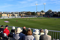 General view of play as the floodlights come on during Essex Eagles vs Sussex Sharks, Royal London One-Day Cup Cricket at The Cloudfm County Ground on 10th May 2017