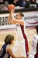 9 November 2006: Stanford Cardinal Michelle Harrison during Stanford's 88-61 win in the first round of the preseason Women's National Invitation Tournament against Loyola Marymount Lions at Maples Pavilion in Stanford, CA.