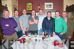 Man Of The Match Function : Pictured at the North Kerry Board's Manof the |Match function at McMunn's Bar & Restaurant, Ballybunion on Friday night last were Jim Quirke, Donal Scanloan, Stephen Moran, Donie Fitzgerald, John O.Brien, Tim Scanlan, Larry O'Connor & Eamonn Stack.