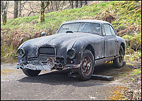 Barn find Aston Martin need's a major restoration.