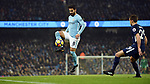 Ilkay Gundogan of Manchester City is challenged by Harry Winks of Tottenham Hotspur during the premier league match at the Etihad Stadium, Manchester. Picture date 16th December 2017. Picture credit should read: Robin ParkerSportimage
