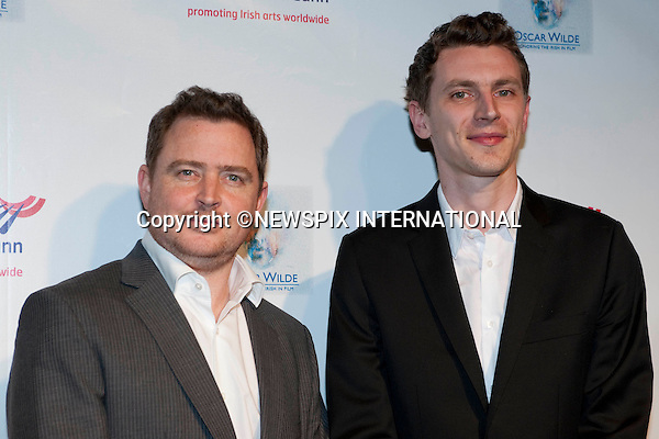 """Nicky Phelan and Darragh O'Connell.The US-Ireland Alliance Pre-Academy Awards Event, The Ebell Club of Los Angeles, Los Angeles_04/03/2010.Mandatory Photo Credit: ©Dias/Newspix International..**ALL FEES PAYABLE TO: """"NEWSPIX INTERNATIONAL""""**..PHOTO CREDIT MANDATORY!!: NEWSPIX INTERNATIONAL(Failure to credit will incur a surcharge of 100% of reproduction fees)..IMMEDIATE CONFIRMATION OF USAGE REQUIRED:.Newspix International, 31 Chinnery Hill, Bishop's Stortford, ENGLAND CM23 3PS.Tel:+441279 324672  ; Fax: +441279656877.Mobile:  0777568 1153.e-mail: info@newspixinternational.co.uk"""
