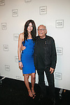 Katie Cassidy and Max Azria: New York Mercedes-Benz Fashion Week Spring 2012 - Herve Leger - Backstage New York City, USA -  9/13/11