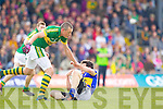 Kieran Donaghy, Kerry in action against \t0\ in the first round of the Munster Football Championship at Fitzgerald Stadium on Sunday.
