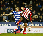 Lys Mousset of Sheffield Utd during the FA Cup match at the Madejski Stadium, Reading. Picture date: 3rd March 2020. Picture credit should read: Simon Bellis/Sportimage