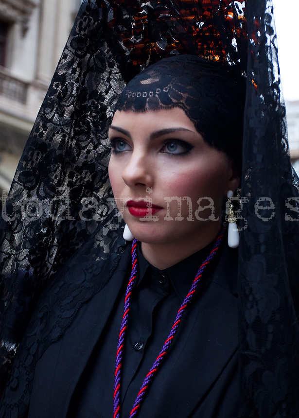 Gypsy procession in Granada