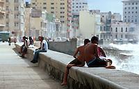 am Malecon in Habana - Vedado, Cuba