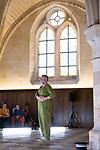 PLAY612<br /> <br /> Daniel Larrieu conception<br /> Daniel Larrieu et Enzo Pauchet interpr&eacute;tation <br /> Virginie Galas r&eacute;gie g&eacute;n&eacute;rale<br /> Collection Daniel Larrieu, Astrakan production diffusion<br /> Cadre : Festival Danse &agrave; Royaumont / Entre-Actes/Chor&eacute;graphiques #2<br /> Date : 01/09/2018<br /> Lieu : Abbaye de Royaumont / R&eacute;fectoire des convers<br /> <br /> Credit photo : Laurent Paillier / Fondation Royaumont