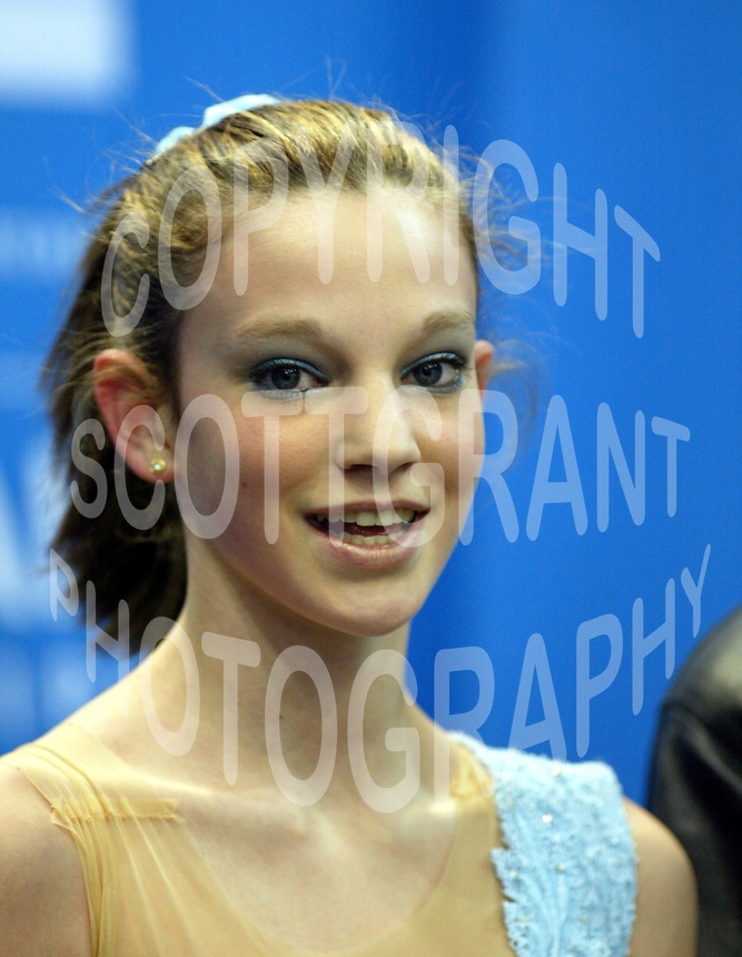 Sarah Burke Canada 2003 Canadian Figure Skating Championships. Photo Scott Grant