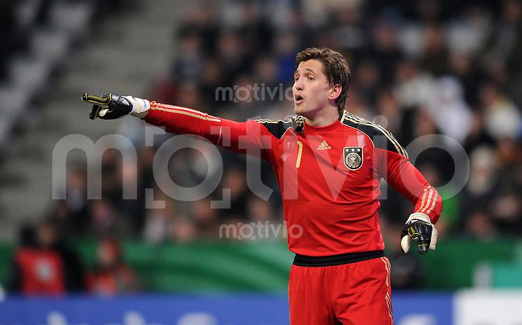 Fussball International, Deutsche Nationalmannschaft  Deutscher Fussballbund, Deutschland - Argentinien 03.03.2010 Rene Adler (GER)