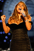 Washington, DC - January 20, 2009 -- Singer Mariah Carey performs at the Neighborhood Inaugural Ball at the Washington Convention Center on January 20, 2009 in Washington, DC. Obama became the first African-American to be elected to the office of President in the history of the United States.  .Credit: Chip Somodevilla - Pool via CNP