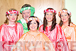 PANTO: Aideen Rogers, Neilus Curran, Edel Murphy, Poppy Melia and Aileen Lynch adding colour to the Snow White and the Seven Cromane men Pantomime in the CYMS hall, Killorglin on Monday.   Copyright Kerry's Eye 2008