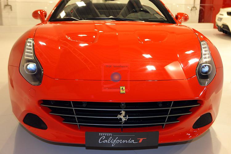 Automobile Barcelona 2017.<br /> Stand Ferrari.