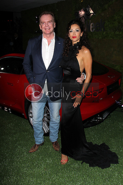"Christopher Guy, Sofia Milos<br /> at Jaguar North America and Britweek Present ""A Villainous Affair,"" The London West Hollywood, West Hollywood, CA 05-02-14<br /> David Edwards/DailyCeleb.Com 818-249-4998"
