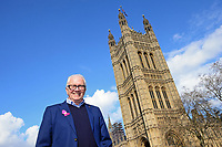 Picture by SWpix.com - 07/03/2018 - Cycling - 2018 OVO Energy Women's Tour Launch - Westminster, London, England - Mick Bennett, Director of SweetSpot, pictured at College Green outside the Houses of Parliament to launch the 2018 OVO Energy Women's Tour.