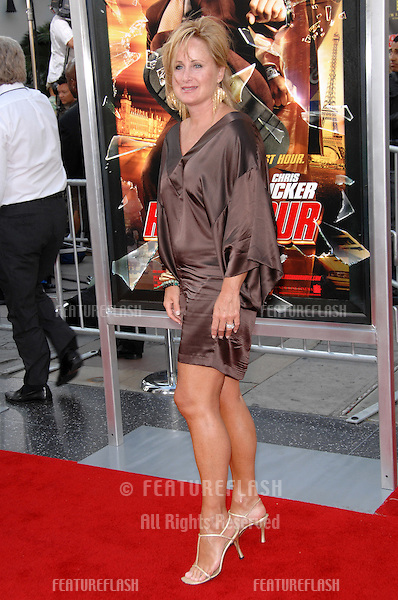 "Kelly Stone at the Los Angeles premiere of ""Rush Hour 3"" at Grauman's Chinese Theatre, Hollywood..July 31, 2007  Los Angeles, CA.Picture: Paul Smith / Featureflash"